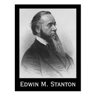 Cartão Postal Edwin M. Stanton