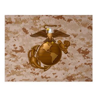 Cartão Postal EGA da Cheio-Cor - Bronze