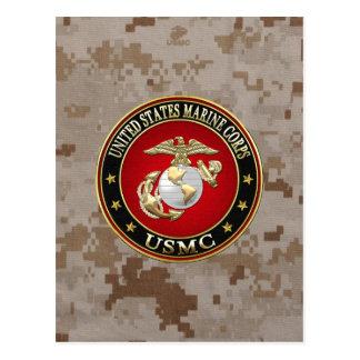 Cartão Postal EGA do USMC [edição especial] [3D]