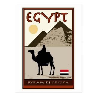 Cartão Postal Egipto