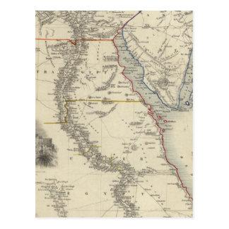 Cartão Postal Egipto, e Arábia Petraea
