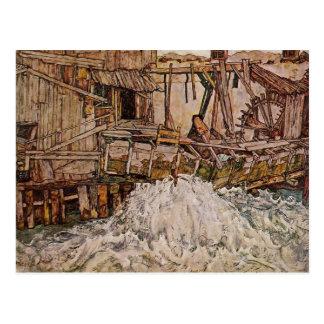 Cartão Postal Egon Schiele- o moinho