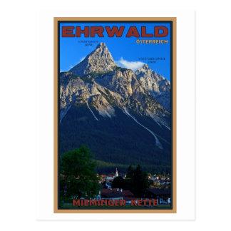 Cartão Postal Ehrwald - o Sonnenspitze