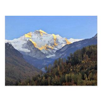 Cartão Postal Eiger, Monsch e Jungfrau