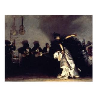 Cartão Postal EL Jaleo de Sargent- do cantor de John