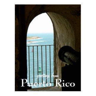 Cartão Postal EL Morro, Puerto Rico