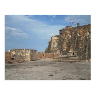 Cartão Postal EL Morro San Juan Puerto Rico