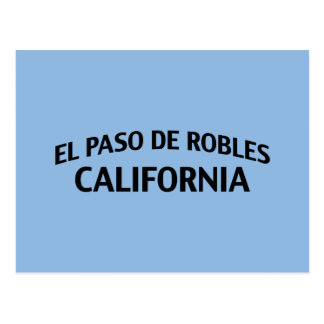 Cartão Postal El Paso de Robles Califórnia