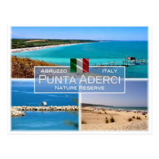 Cartão Postal ELE Italia - Abruzzo - Punta Aderci -