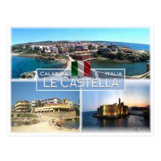 Cartão Postal ELE Italia - Calabria - Le Castella -
