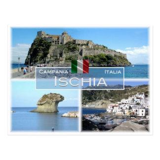 Cartão Postal ELE Italia - Campania - d'Ischia de Isola -