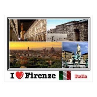Cartão Postal ELE Italia - Firenze - mosaico -
