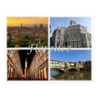 Cartão Postal ELE Italia - Florença Firenze -