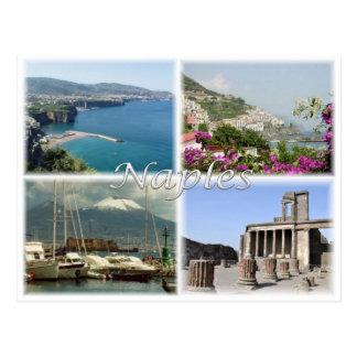 Cartão Postal ELE Italia - Italia - Nápoles -