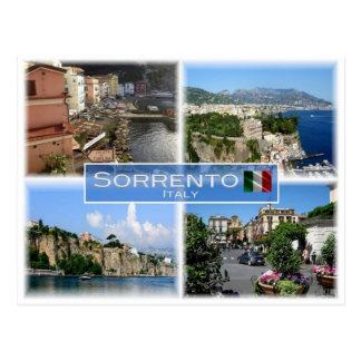 Cartão Postal ELE Italia - Italia - Sorrento - costa de Amalfi -