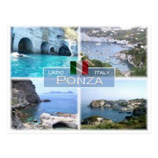 Cartão Postal ELE Italia - Lazio - Ponza -