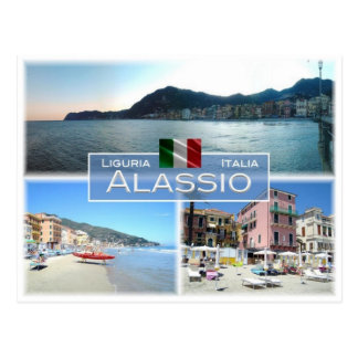 Cartão Postal ELE Italia - Liguria - Alassio -