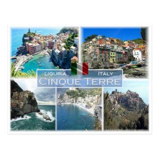 Cartão Postal ELE Italia - Liguria - Cinque Terre -