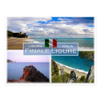Cartão Postal ELE Italia - Liguria - final Ligure -