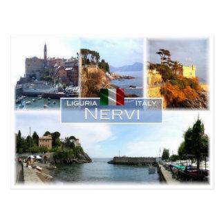 Cartão Postal ELE Italia - Liguria - Nervi -