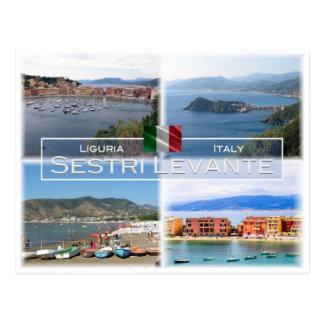 Cartão Postal ELE Italia - Liguria - Sestri Levante -