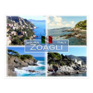Cartão Postal ELE Italia - Liguria - Zoagli -