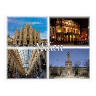 Cartão Postal ELE Italia - Milão Milão - Lombardy -