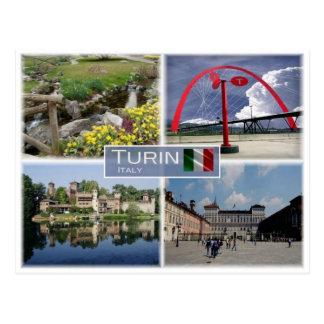 Cartão Postal ELE Italia - Turin Torino - Piedmont -
