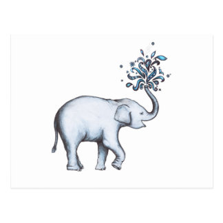 Cartão Postal Elefante (cartão)