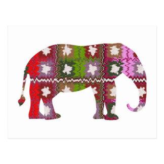 Cartão Postal Elefante do BEAU