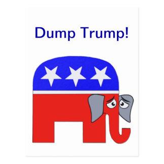 Cartão Postal Elefante do GOP