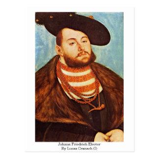 Cartão Postal Eleitor de Johann Friedrich por Lucas Cranach (i)