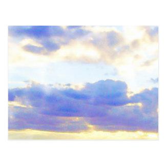 Cartão Postal Elemento Skyscape do AR