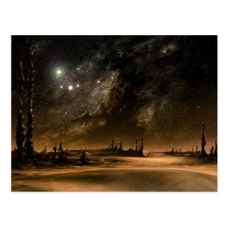 Cartão Postal Elevação da galáxia