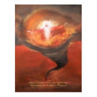 Cartão Postal Elias com poema