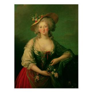 Cartão Postal Elisabeth de France chamou a senhora Elizabeth