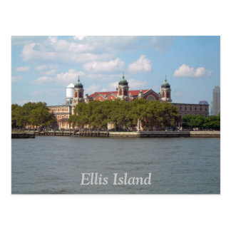 Cartão Postal Ellis Island