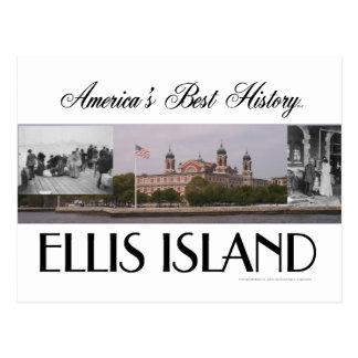 Cartão Postal Ellis Island de ABH
