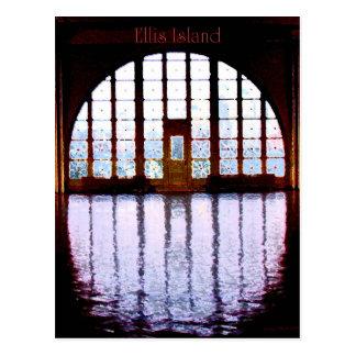 Cartão Postal Ellis Island mim