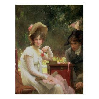 Cartão Postal Em Amor, 1907