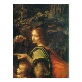 Cartão Postal Em Madonna d de Pormenor de Uriel da descrição