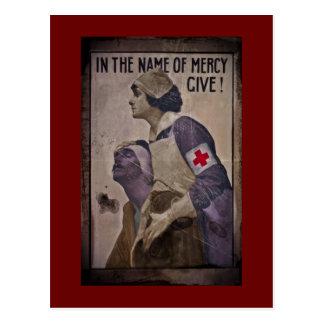 Cartão Postal Em nome do compaixão dê