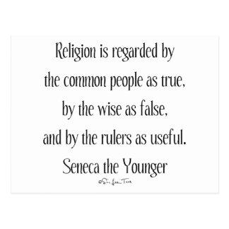 Cartão Postal Em relação à religião