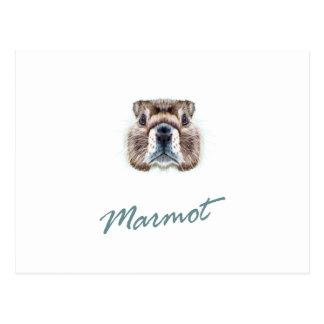 Cartão Postal Em segundo fevereiro - dia da marmota