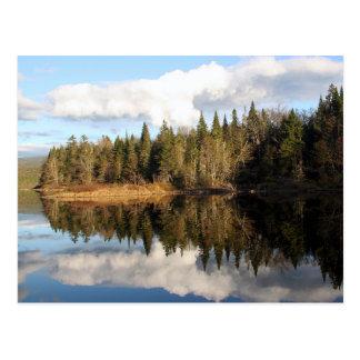 Cartão Postal Em segundo lago Connecticut