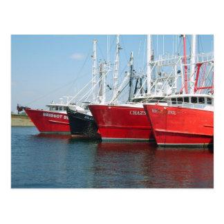 Cartão Postal Embarcações de pesca entradas
