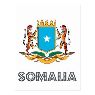 Cartão Postal Emblema somaliano