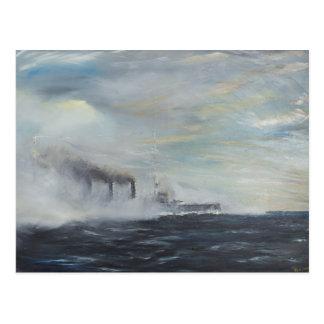 """Cartão Postal Emden """"a cisne"""" do 1914 2011 do leste"""
