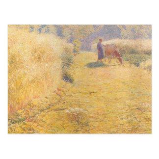 Cartão Postal Emile Claus - verão