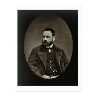 Cartão Postal Emile Zola (1840-1902) 'de Galerie Contemporaine